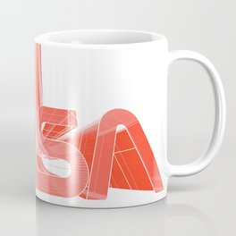 80s NASA Coffee Mug