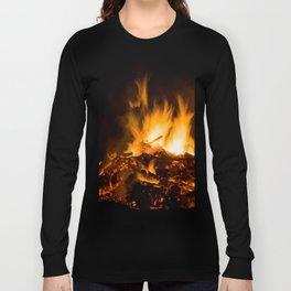 Fire flames Long Sleeve T-shirt