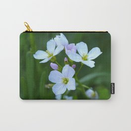 Cuckoo Flower (Cardamine pratensis) Carry-All Pouch