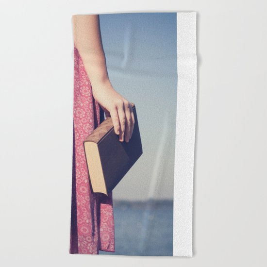 The Book Beach Towel