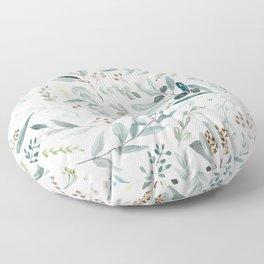 Eucalyptus pattern Floor Pillow