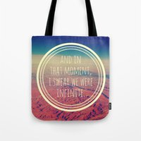 infinite Tote Bags featuring Infinite by Josrick