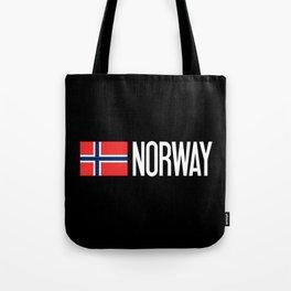 Norway: Norwegian Flag & Norway Tote Bag