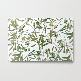 olive pattern Metal Print