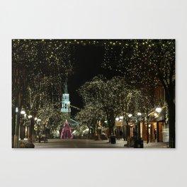 Church Street, Burlington Vermont Canvas Print