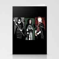 dark souls Stationery Cards featuring Souls Waifus by Shadyfolk