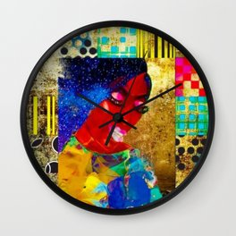 Essence of Beauty Wall Clock