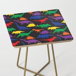 Dinosaurs - Black Side Table