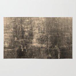 Gold Crinkled Paper Rug