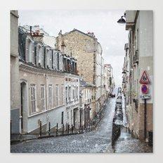 Montmartre, Paris. Canvas Print