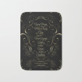 Every person has the power... Caraval Bath Mat