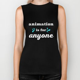 Animation is for Anyone Biker Tank