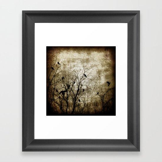 Winter Song Framed Art Print