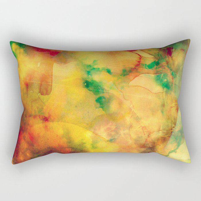 Fume Color Splash 05 Rectangular Pillow