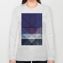 Scottish Geo Tartan Long Sleeve T-shirt
