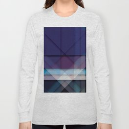 Scottish Geo Tartan Long Sleeve T-shirt