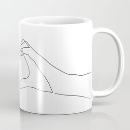 Hand Heart Coffee Mug