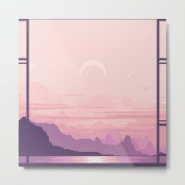 Bay Window V2 Metal Print