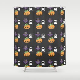 Halloween Pattern Shower Curtain
