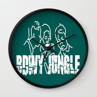 reggae Wall Clocks featuring Singing Reggae - Bdwy Jungle by The Peanut Line