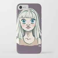 chandelier iPhone & iPod Cases featuring Chandelier by Jessi's Art