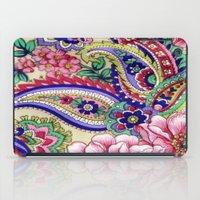 deco iPad Cases featuring Floral Deco by Elena Indolfi