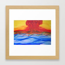 Counterharmony. Framed Art Print