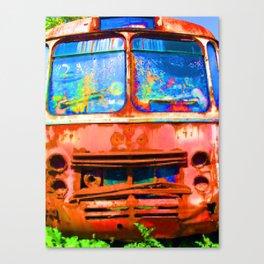 Scrapped Canvas Print