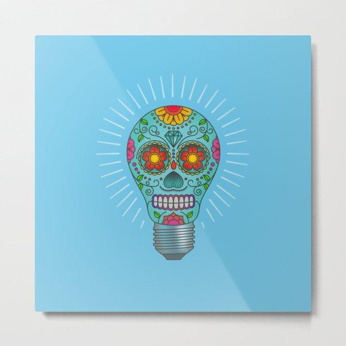 Light Headed Metal Print