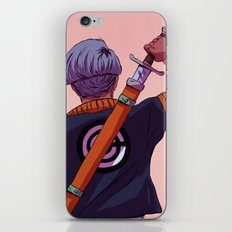 Mirai Trunks iPhone & iPod Skin