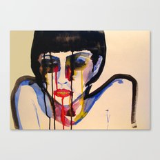 BL INK 3 Canvas Print