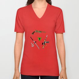 the weapons of firefly Unisex V-Neck