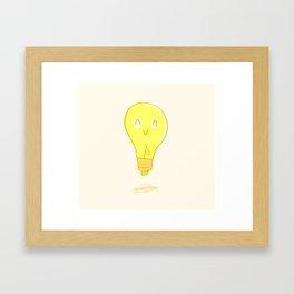 Happy Light Framed Art Print