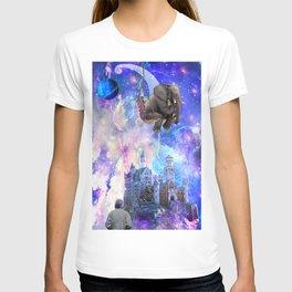 Space elephant T-shirt