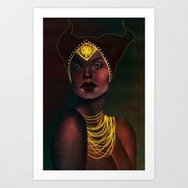 Madame de Fer Art Print
