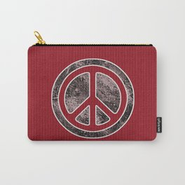 Peace Symbol-Dissd Carry-All Pouch