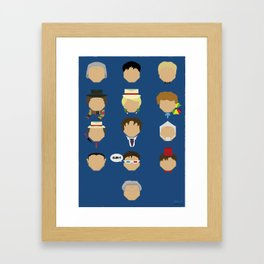 Did Someone Call for a Doctor? Framed Art Print