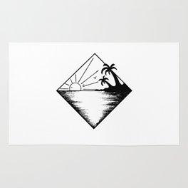 Triangle paradis 2 Rug