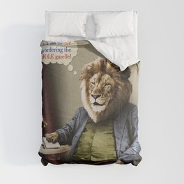 Hungry Lion Comforters