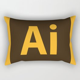 Adobe Illustrator Icon Rectangular Pillow