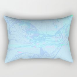 Marble Fuzz Rectangular Pillow