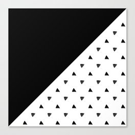 Triangle and triangles Canvas Print
