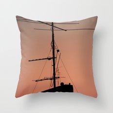 Antenna in its natural habitat Throw Pillow