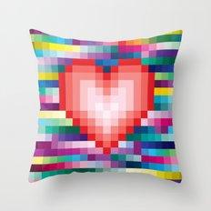 Mega ☐ Love Throw Pillow