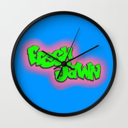 Fresh Jawn Wall Clock