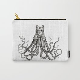 Octopussy | Black and White Carry-All Pouch