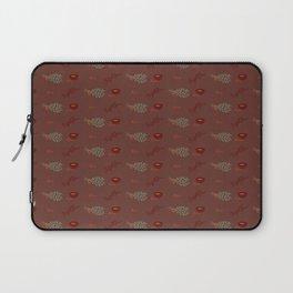 Herb Pattern Laptop Sleeve