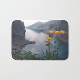 Summer Flowers Bath Mat