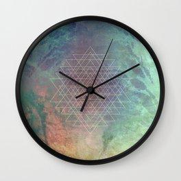ABSTRACTION no6-B Wall Clock