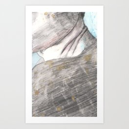 A face like Art Print